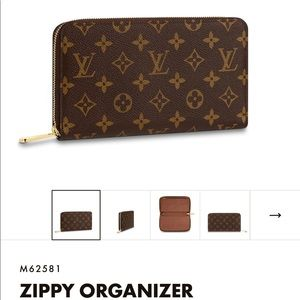 Louis Vuitton Bags - Louis Vuitton Zippy Organizer